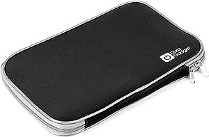 DURAGADGET Black Shock-Absorbing Neoprene Laptop Sleeve with Dual Zips for Acer Aspire ES1-512, Acer Aspire V3-771, Acer Aspire E5-511 & Acer Aspire E5-571