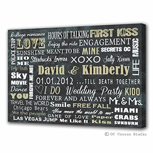 amazon com personalized word custom print custom canvas print made
