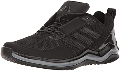 adidas Men 's Speed 3.0 Cross-Trainer Shoes Black/Metallic Silver/Wh... 2DAY SHIP