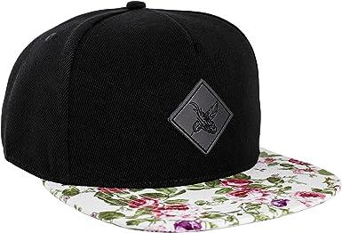 Blackskies Snow Snapback Cap Sombrero Negro Blanco Unisex Gorras ...
