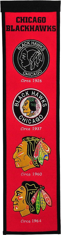 Winning Streak NHL Chicago Blackhawks Heritage Banner