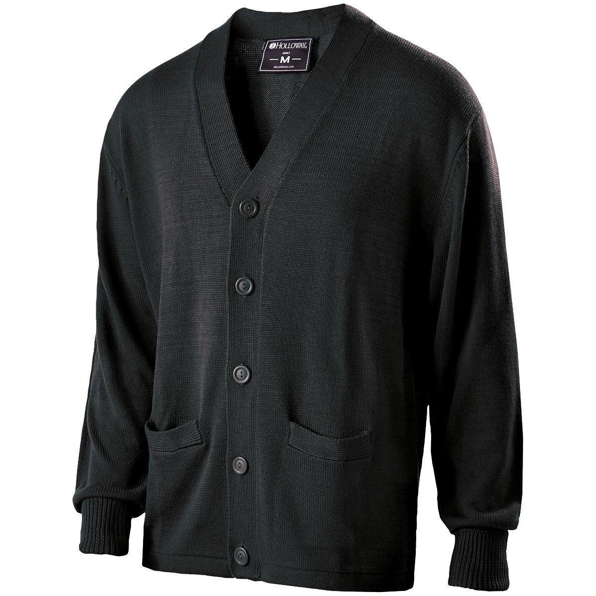 Holloway Sportswear LETTERMAN SWEATER Men's L Black