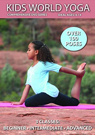 Amazon.com: Kids World Yoga: Classes led by 10 kid yogis ...