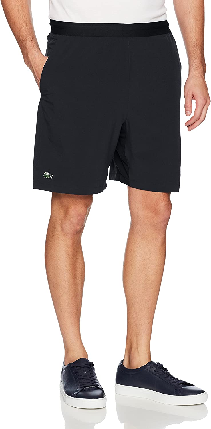 Lacoste Mens Tennis Stretch Taffeta Short