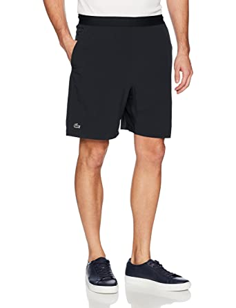db4e947067 Lacoste Men's Tennis Stretch Taffeta Short at Amazon Men's Clothing store: