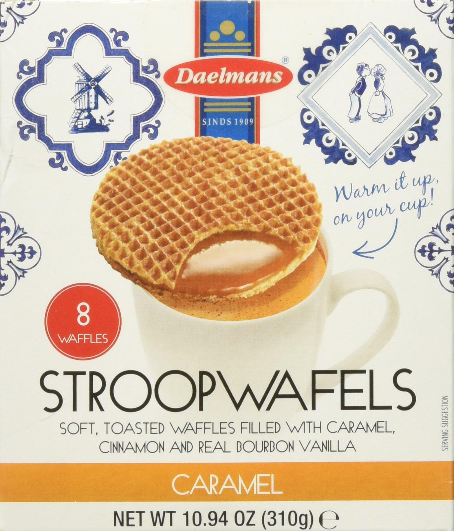 Daelmans Caramel Stroopwafels waffles, 10.94 Ounce (Pack of 3)