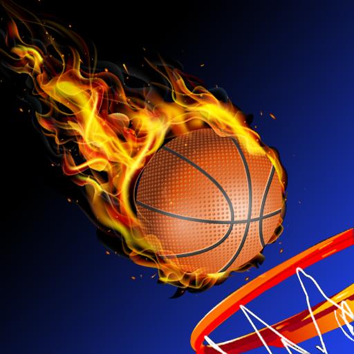 Dunking Flip Basket Race 3D