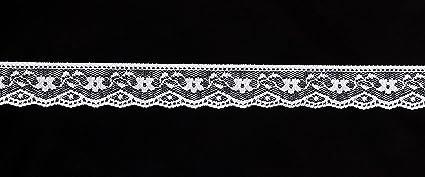49fed4dc60b2 Amazon.com: Vintage Antique DIY Net Rachel Lace Ribbon Floral ...
