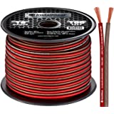InstallGear 16 Gauge Speaker Wire OFC Oxygen-Free Copper, 100-feet