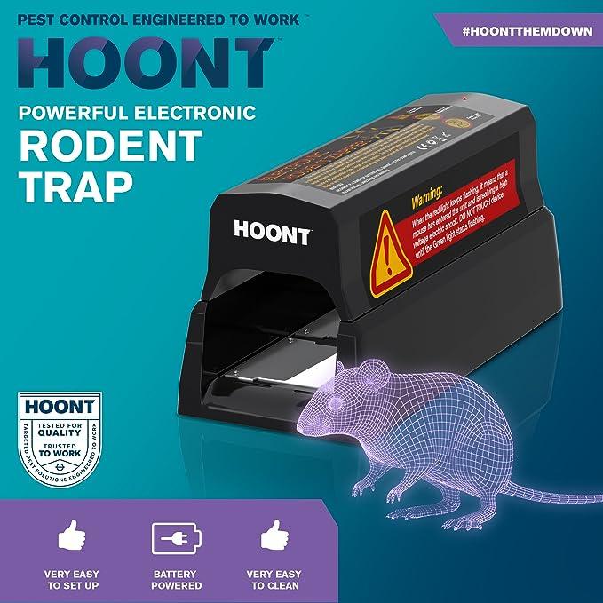 Amazon.com: Electric Rat Trap by Hoont, Rat Zapper Catcher Perfect ...