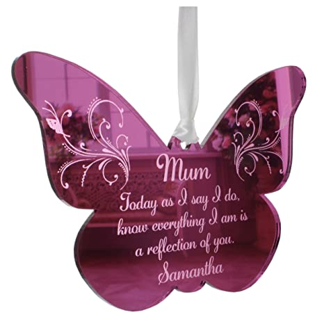 Personalised Daughter//Stepdaughter Wedding keepsake thank you present plaque