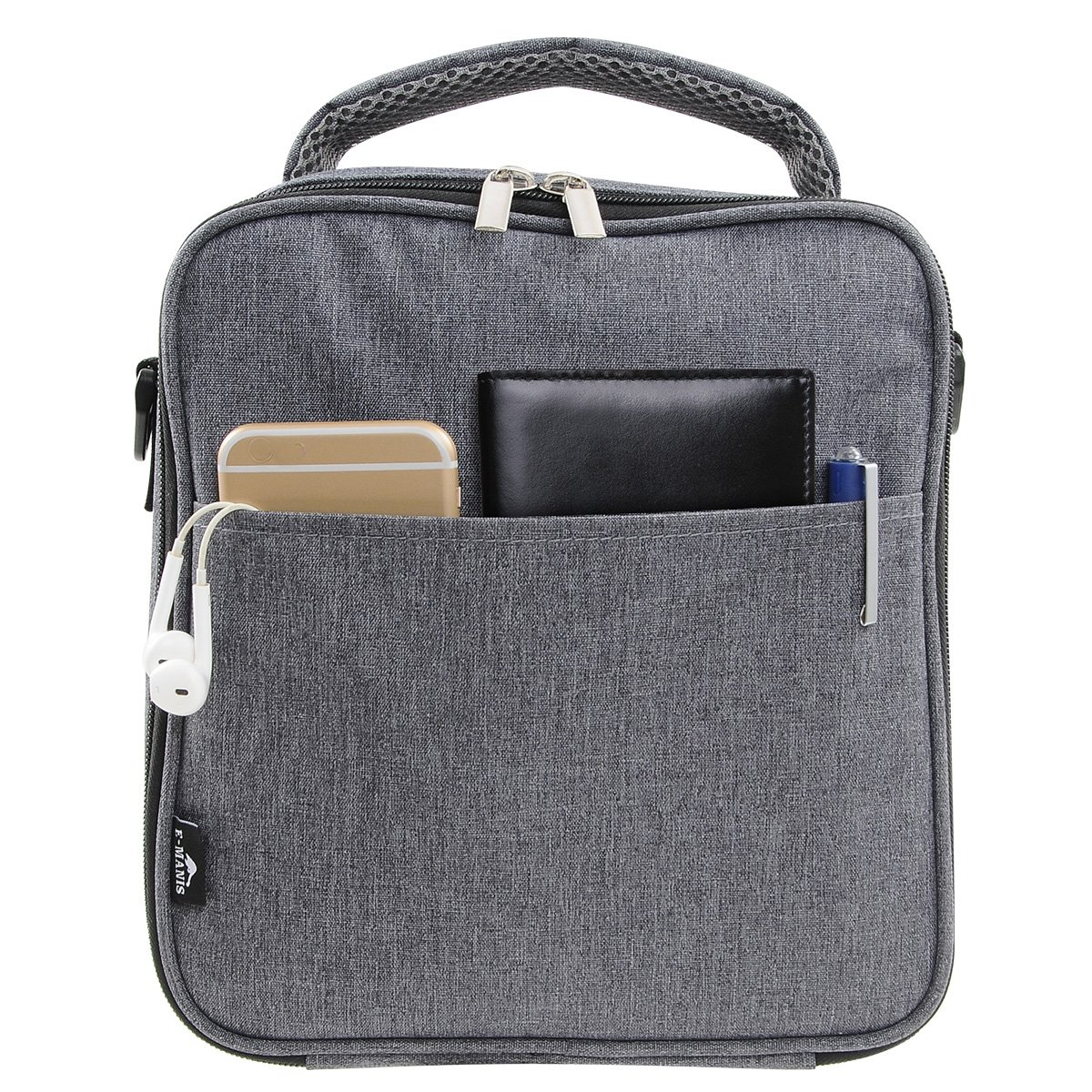 Details about E-manis Insulated Lunch Bag Lunch Box Cooler Bag with Shoulder  Strap for Men 7ee7fdc4b038e