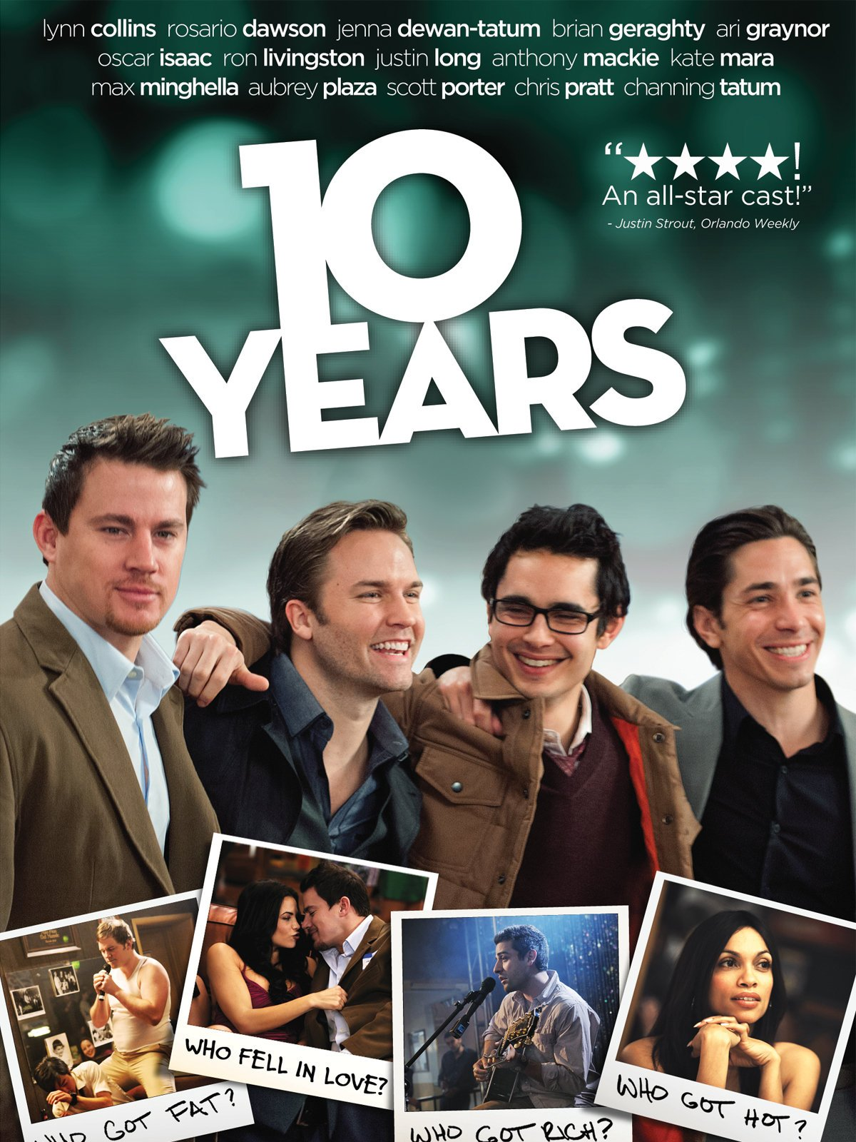 Amazon. Com: 10 years: channing tatum, chris pratt, oscar isaac.