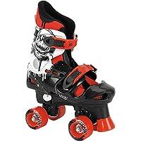 Osprey Boys Quad Skates - Adjustable Roller Skates - Multiple Sizes - Red