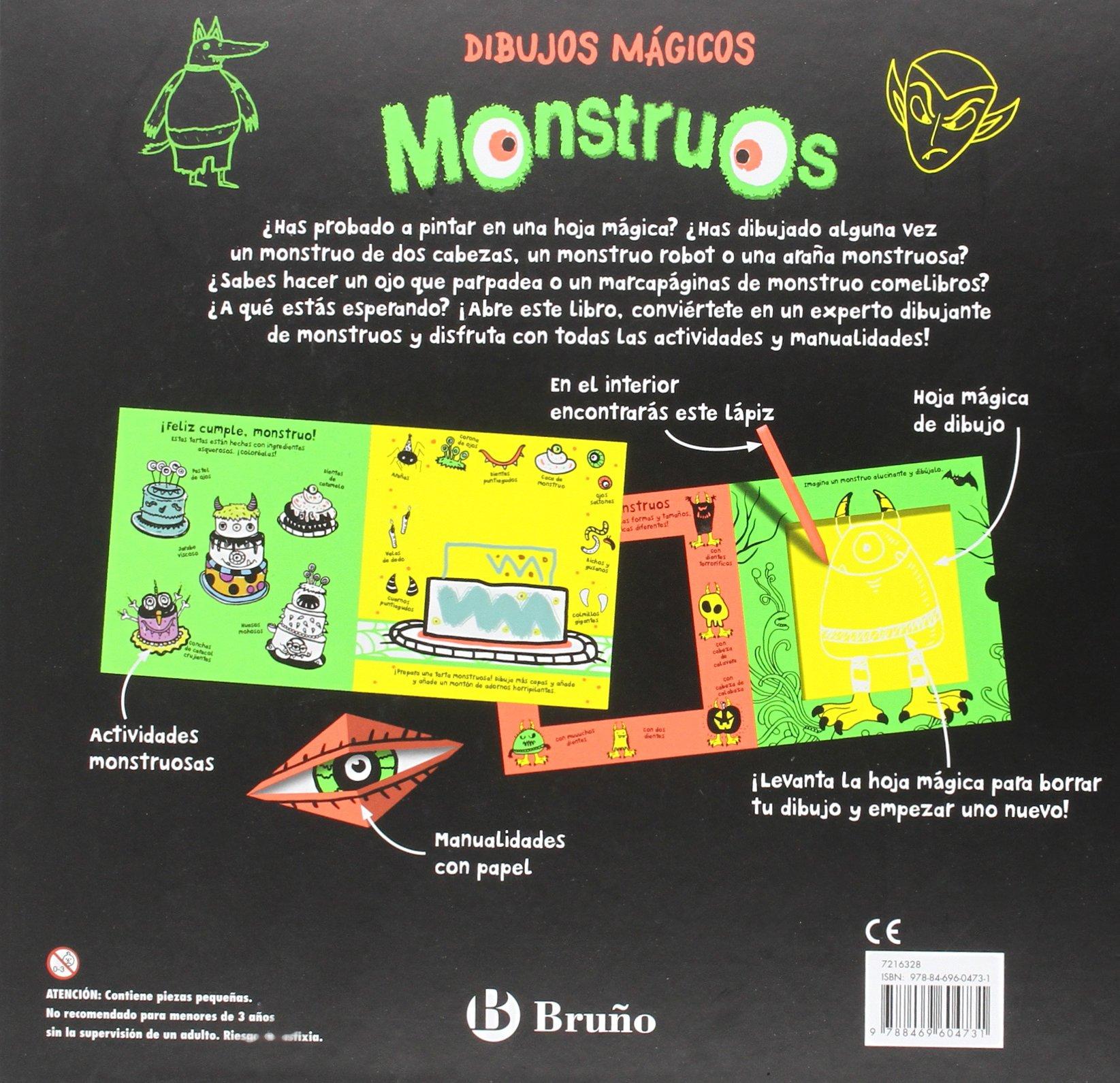 Dibujos mágicos. Monstruos Castellano - A Partir De 6 Años ...
