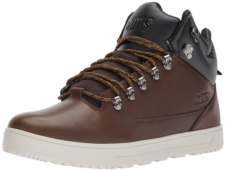 DVS Men's Vanguard+ Snow Shoe, Chocolate Brown Leather, 11 UK