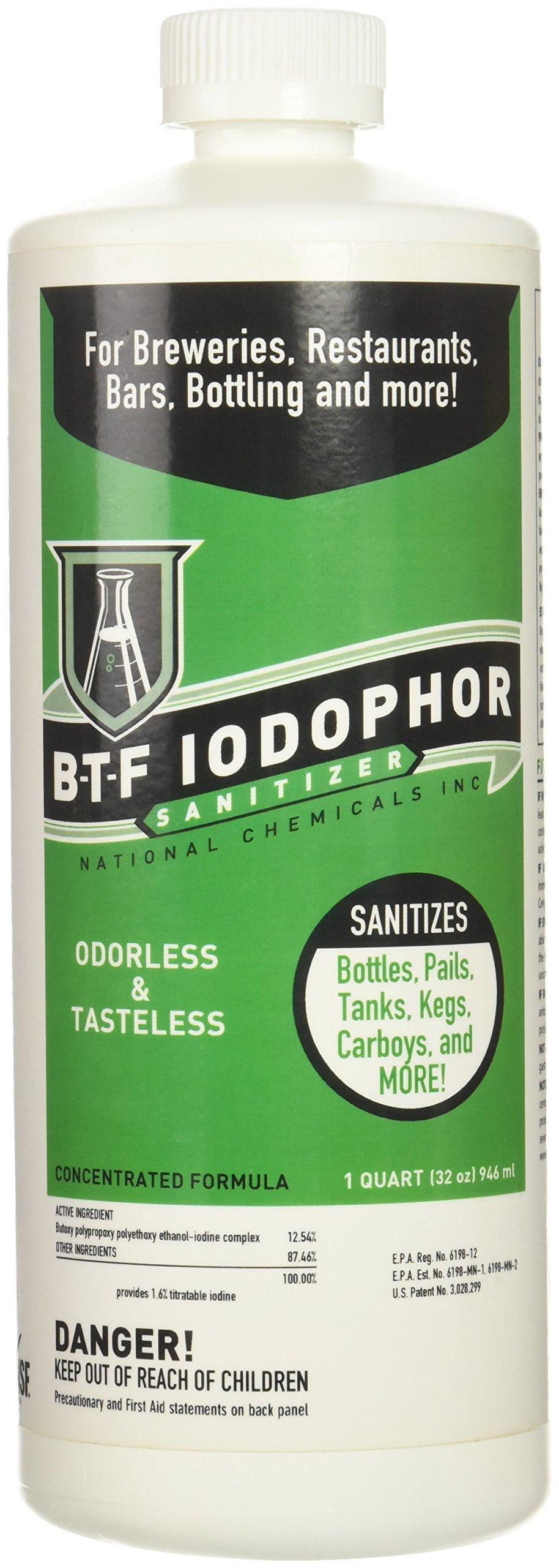 BTF Iodophor Sanitizer 32 oz