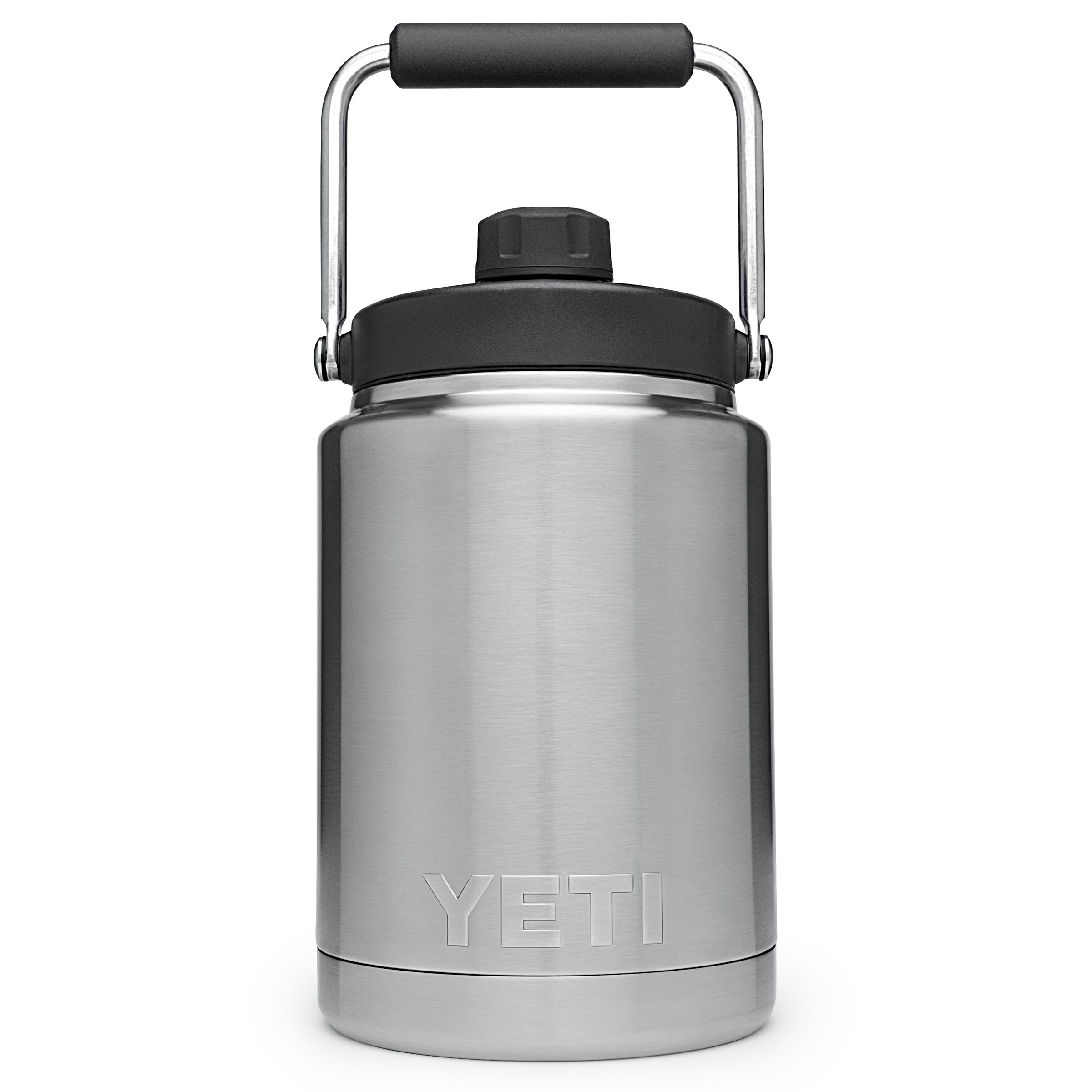 YETI Rambler Vacuum Insulated Stainless Steel Half Gallon Jug with MagCap, Stainless Steel by YETI