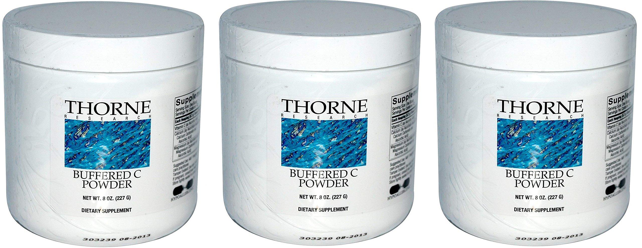 Buffered C Powder 8oz x 3 bottles 24oz total