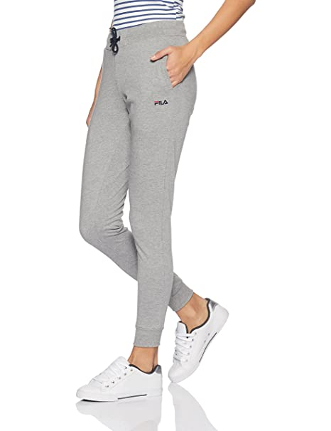 Fila Women's Cotton Track Pants Trousers at amazon