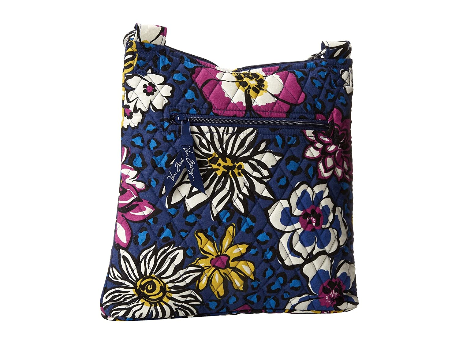 9ee6eb009b Vera Bradley Hipster Crossbody Bag (African Violet)  Handbags  Amazon.com