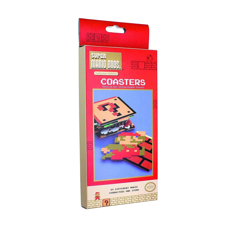 Super Mario Bros Dessous de Verre Multicolore