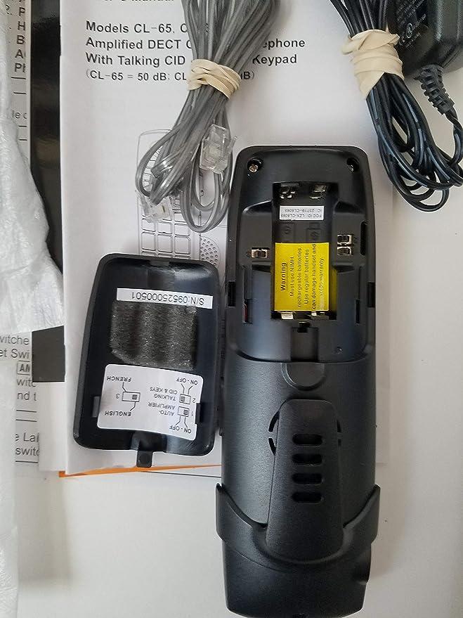 Serene Innovations SI-CL-30 Big button loud volume talking CID
