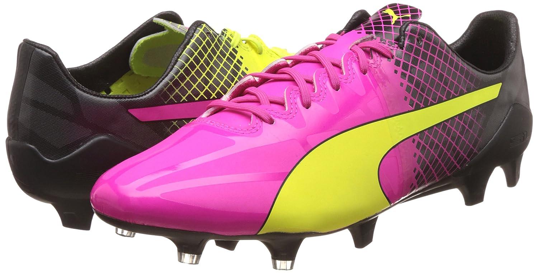 Puma Evospeed 1.5 Tricks FG - Zapatillas de Fútbol Hombre, Rosa, 44
