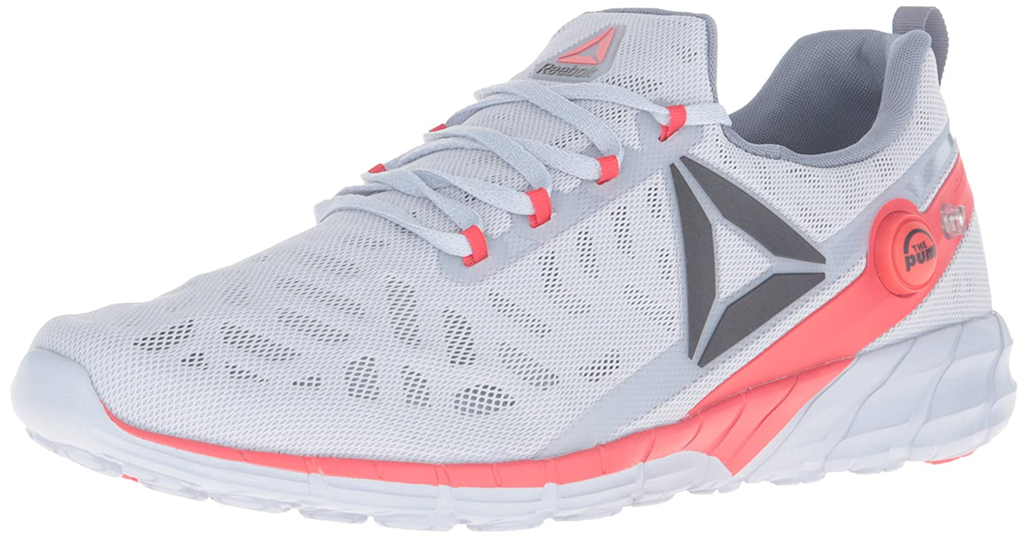 Reebok Men's Zpump Fusion 2.5 Running Shoe B019NV4ZAM 11.5 D(M) US|Cloud Grey/Asteroid Dust/Black/Riot Red/White