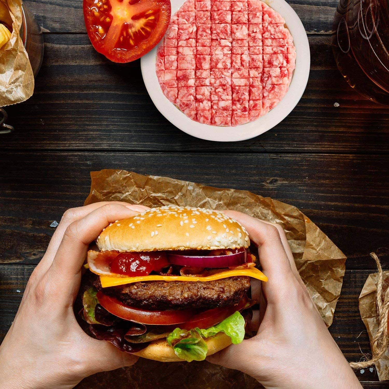 XelparucTS prensa para hamburguesas, hamburguesas, patty Maker ...