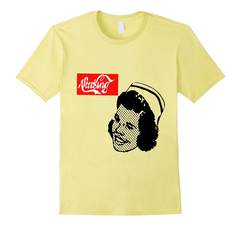 Vintage Retro Nursing Student t-shirt-Art