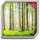 Green Rainfall HD - Relaxing Rainy Ambiance to overcome Stress - An App for Fire TV & Devices