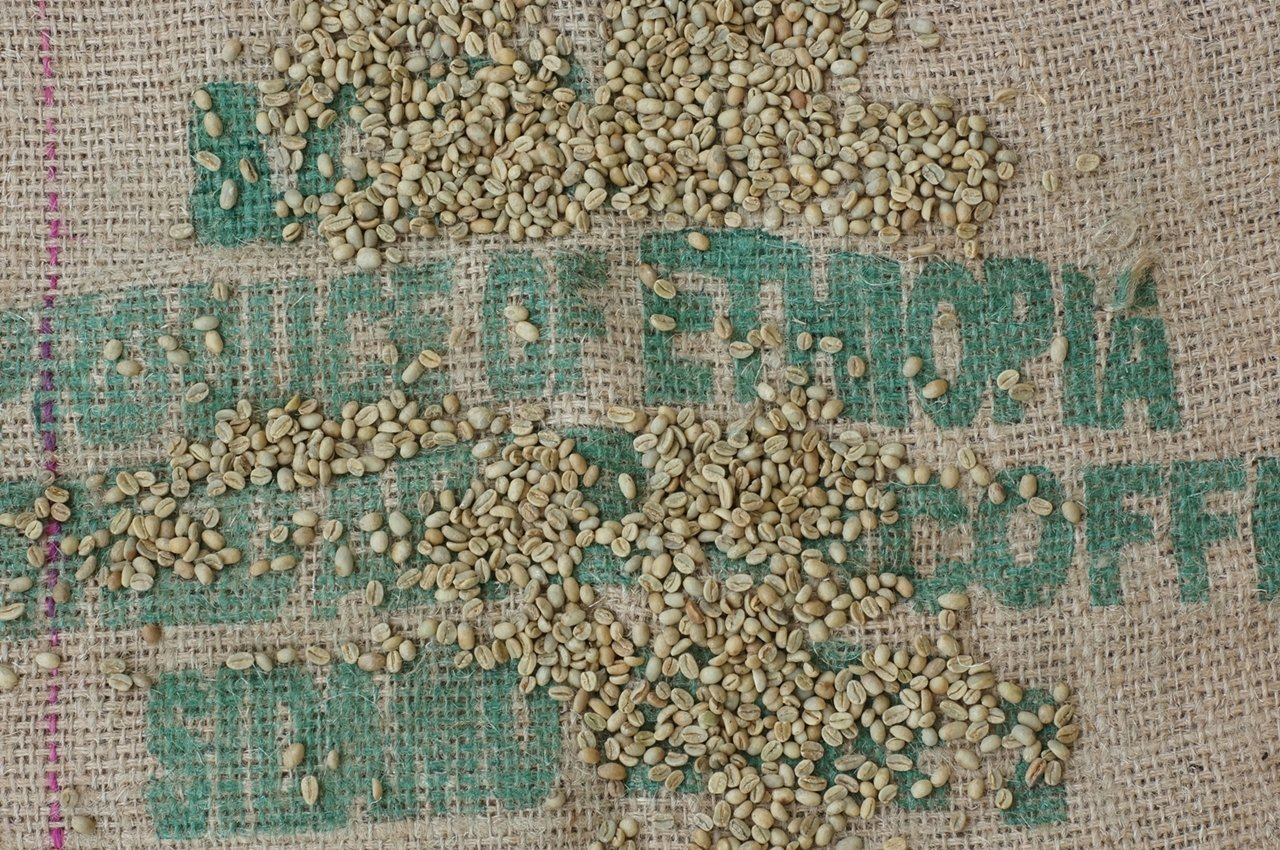 Timrow Traders Unroasted Green Coffee Beans - Ethiopia Sidamo - 5 LB