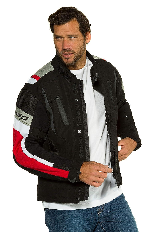 JP 1880 Homme Grandes Tailles Blouson de Moto avec Doublure Thermique Noir 6XL 714199 10-6XL