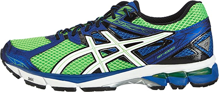 ASICS GT-1000 3 - Zapatillas de deporte para hombre, Color Verde (Neon Green / White / Blue 7001), Talla 46 EU (10.5 UK): Amazon.es: Zapatos y complementos