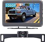 AMTIFO A2 HD 1080P Car Backup Camera with 4.3 Inch Monitor,Easy