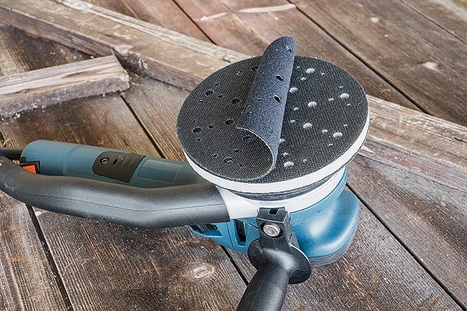 Protecci/ón de Plato de Lija 90mm DFS 3,5 con 6-Agujero Festool para proteger Plato Lijadora de Velcro//Almohadilla de lijado