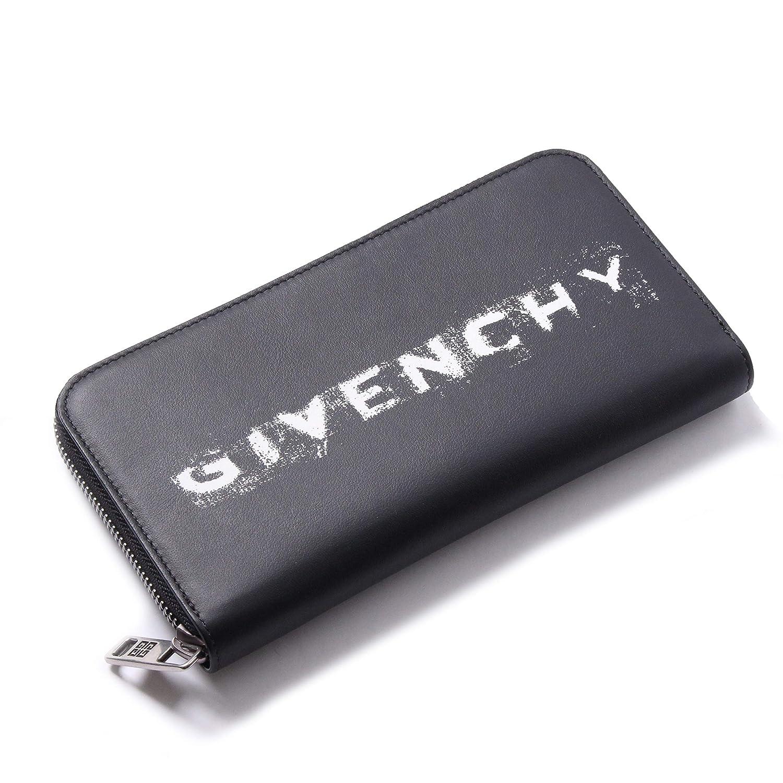 GIVENCHY(ジバンシー) 長財布 ロゴラウンドジップウォレット テキスト ブラック BK600GK0KK 004 [並行輸入品] B07RK1FMZX