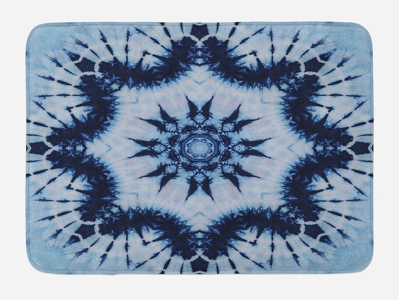 Lunarable Mandala Bath Mat, Tribal Floral Mandala Form Made with Digitally  Folded Radiant Forms Boho Design, Plush Bathroom Decor Mat with Non Slip ...