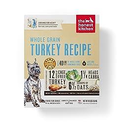 Honest Kitchen Human Grade Dehydrated Organic Grain Turkey Dog Food