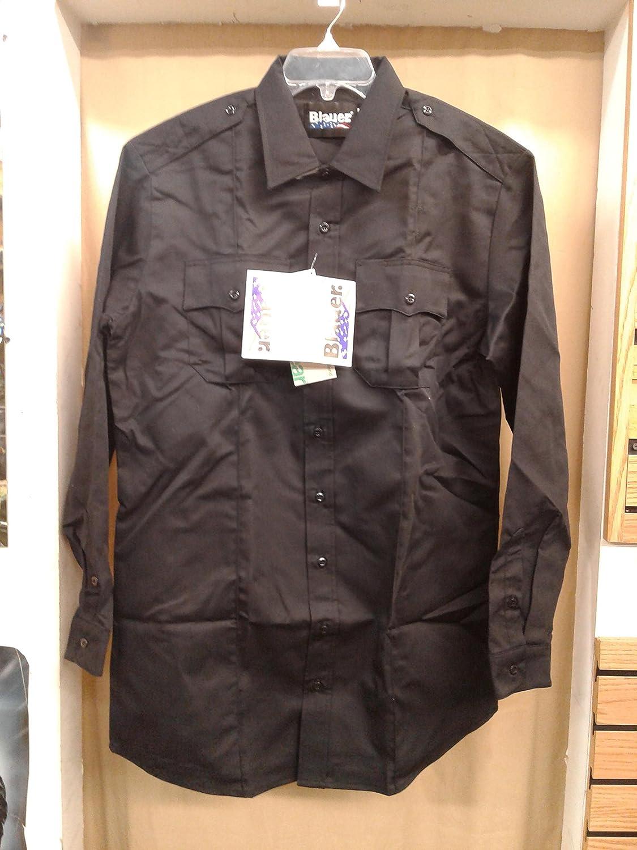 Blauer StreetGear 8703 Long Sleeve Dark Navy Shirt Size: Large 16.5 (36-37)
