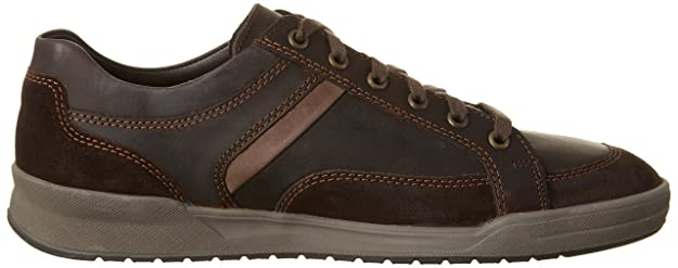 Mephisto Rodrigo, Zapatillas para Hombre, Marrn (Dark Oak Brooklyn 2446/VE.3651/ST.2665), 45 EU