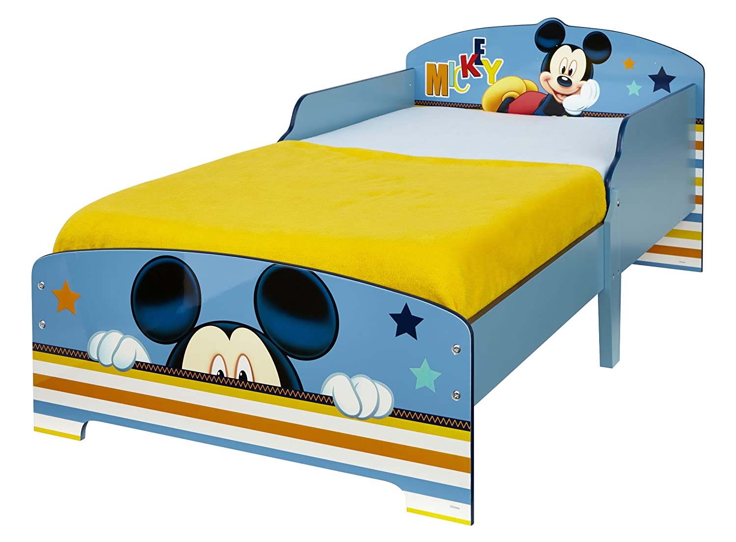 lit enfant mickey. Black Bedroom Furniture Sets. Home Design Ideas