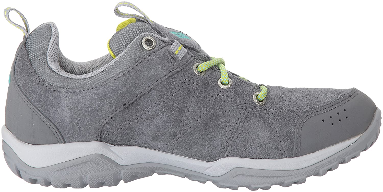 Columbia Women's Fire Venture Low Waterproof Hiking Shoe B01IFLT588 5.5 B(M) US|Ti Grey Steel, Aquarium