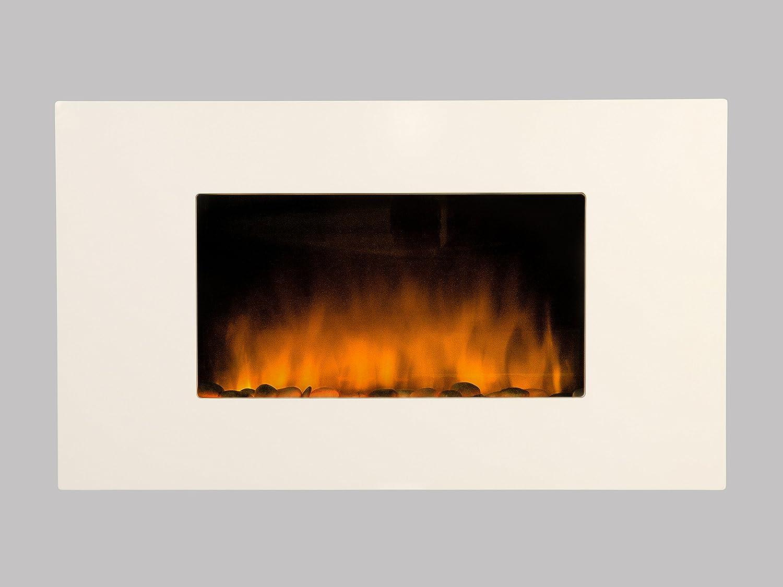 Camino Elettrico Bianco : Cheminarte caminetto elettrico da parete white loft: amazon.it