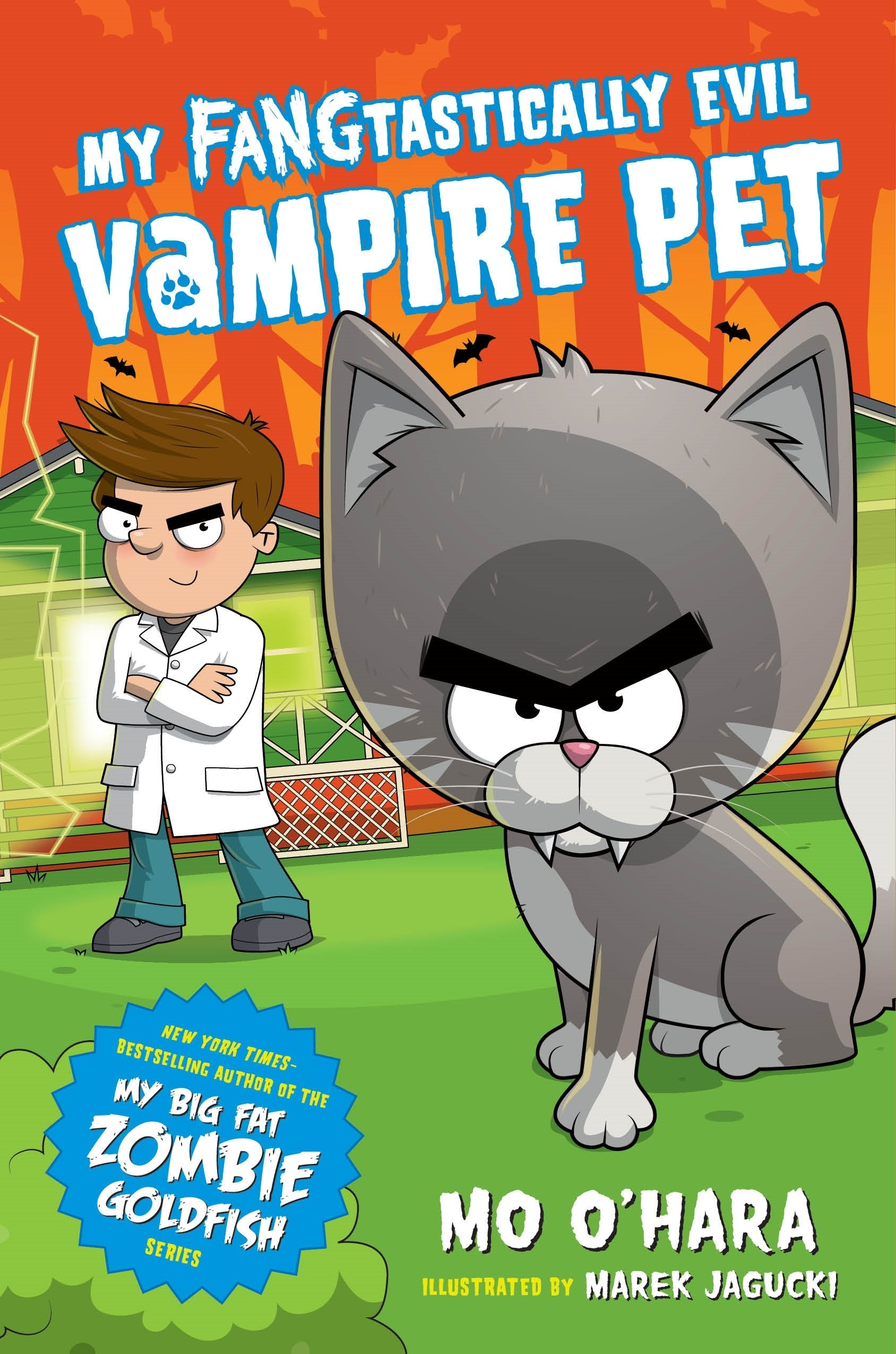 Amazon.com: My FANGtastically Evil Vampire Pet (9781250128119): Mo ...