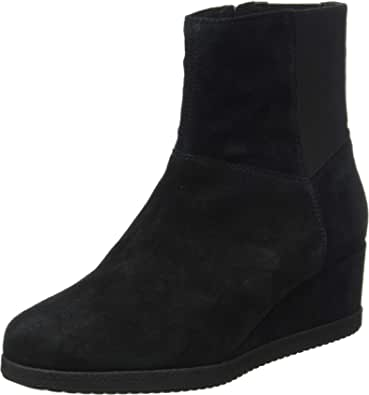 Geox D Anylla Wedge H, Ankle Boot Mujer