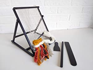 Adjustable Weaving Loom with Accessories Handmade 8 x 10 inch