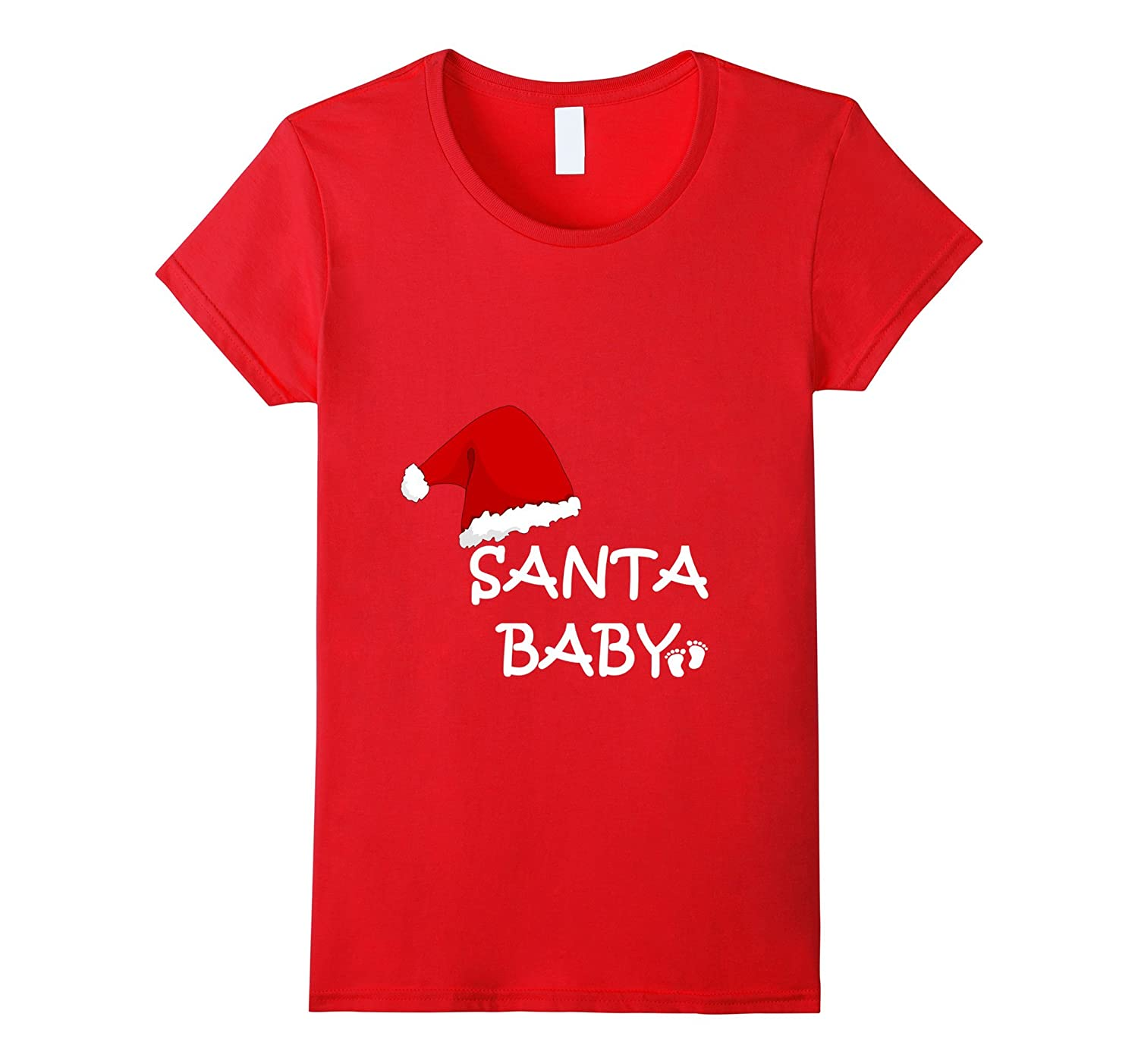 Ladies Santa Baby T-Shirt