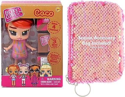 Amazon.com: Ropeastar Boxy – Juego de mini muñecas de ...